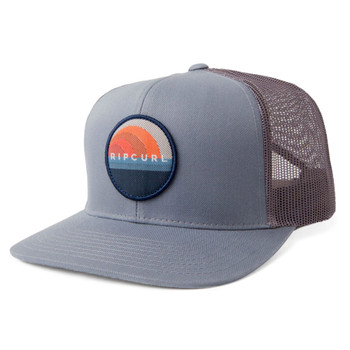 Rip Curl Glass Off Trucker Hat - Grey