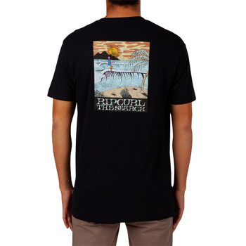 Rip Curl Sir Shred Tee - Black - Back