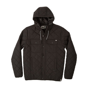 Salty Crew Tidal Puffy Jacket - Black