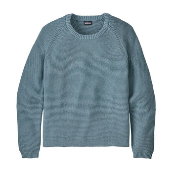 Patagonia Women's L/S Organic Cotton Spring Sweater - Berlin Blue