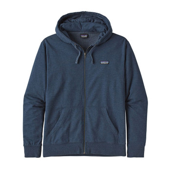 Patagonia Men's P-6 Logo Lightweight Full Zip Hoody - Stone Blue