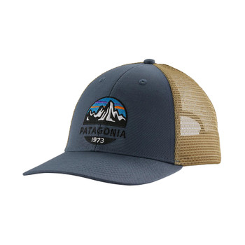 Patagonia Fitz Roy Scope Lopro Trucker Hat - Dolomite Blue