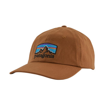 Patagonia Fitz Roy Horizons Trad Cap - Earthworm Brown