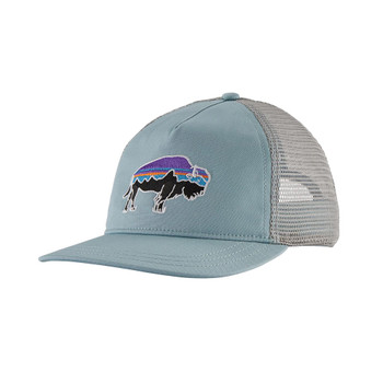 Patagonia Women's Fitz Roy Bison Layback Trucker Hat - Big Sky Blue 2020