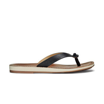 Olukai Women's Nohie Sandals - Black / Tan