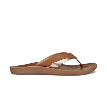 Olukai Women's Kaekae  Sandals - Sahara / Bubbly