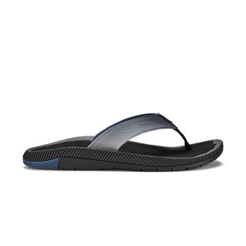 Olukai Welo Sandals - Trench Blue / Black