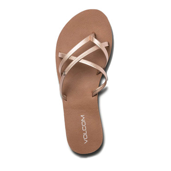 Volcom New School II Sandal - Rose Gold