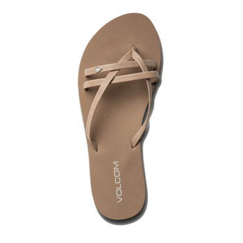 Volcom Look Out Beach Sandal - Tan