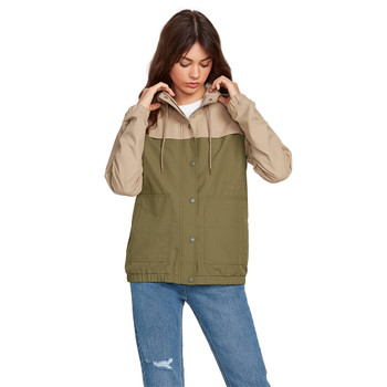 Volcom Enemy Stone Jacket - Dusty Green