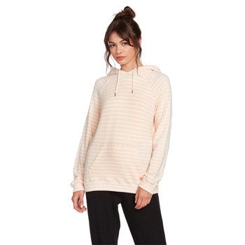 Volcom Lived In Lounge Hoodie - Light Peach