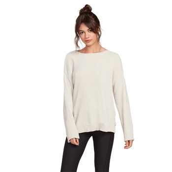 Volcom Lived In Lounge Sweater - Bone