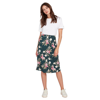 Volcom I'm A Leo Skirt - Emerald Green
