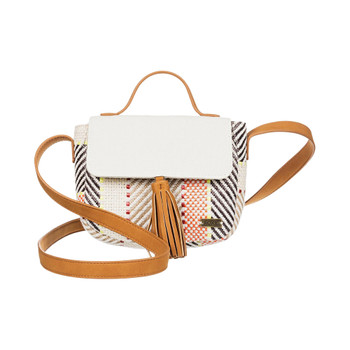 Roxy Happily 2.5 Small Shoulder Bag - Snow White
