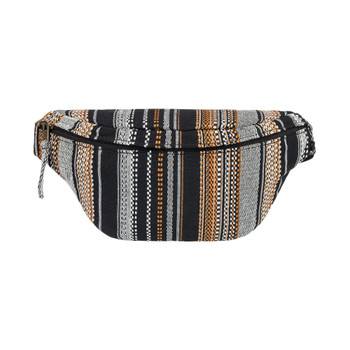 Roxy Sweet Dreams 4L Canvas Fanny Pack - Anthracite