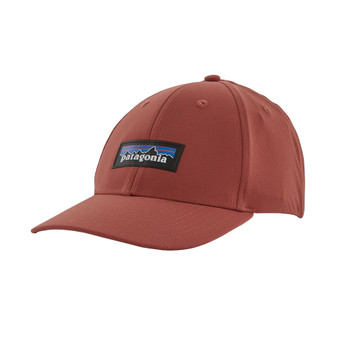 Patagonia P-6 Logo Channel Watcher Cap - Spanish Red