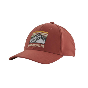 Patagonia Line Logo Ridge Channel Watcher Cap - Spanish Red