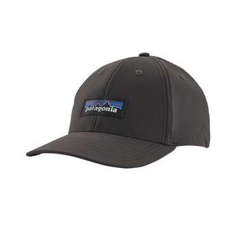 Patagonia P-6 Logo Channel Watcher Cap - Ink Black