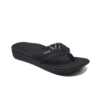 Reef Women's Ortho-Bounce Coast Sandal - Black