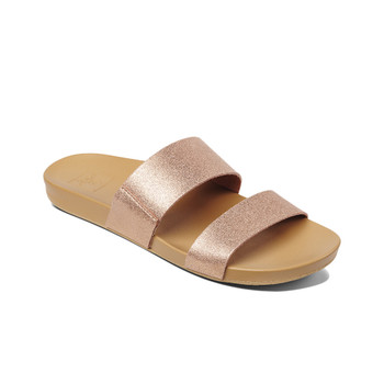 Reef Women's Cushion Bounce Vista Sandal - Rose Gold