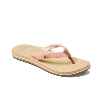 Reef Women's Cushion Sands Sandal - Cantaloupe