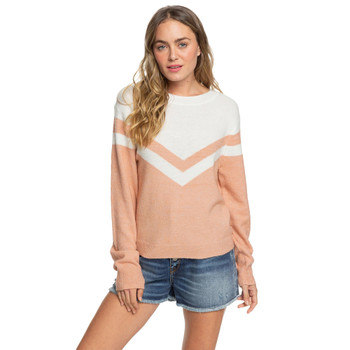 Roxy Requiem Mood Sweater - Cafe Creme