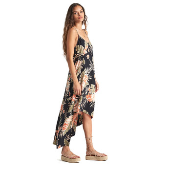 Billabong The Best Dress - Black Floral