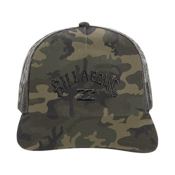 Billabong Flatwall Trucker Hat - Camo
