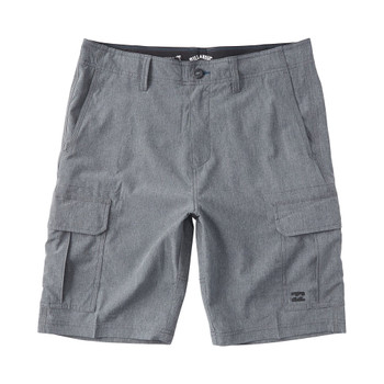 Billabong Combat Bottle Opener Submersible Walkshorts - Charcoal Heather