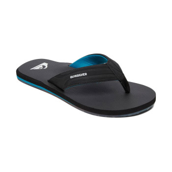 Quiksilver Crystal Oasis Sandals - Black / Black / Blue