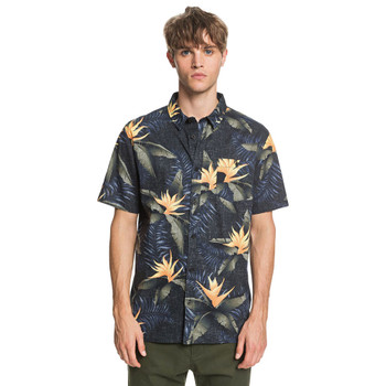 Quiksilver Poolsider S/S Shirt - Black