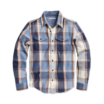 Outerknown Blanket Shirt - California Street Plaid