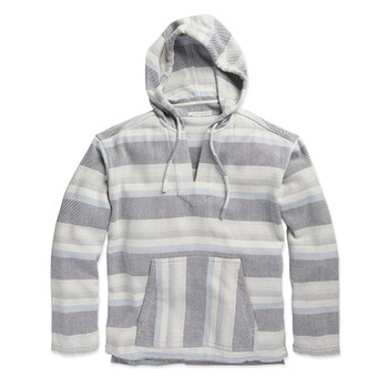 Outerknown Blanket Baja Pullover - Marine Silver Strand