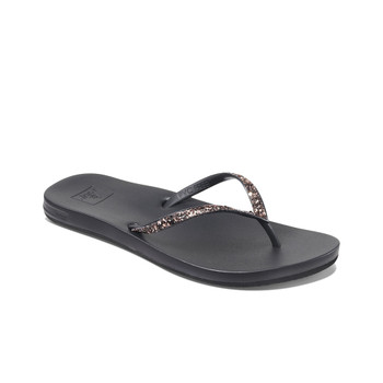 Reef Cushion Bounce Stargazer Sandal - Black / Bronze