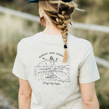 Moment Lady Glider Tee - Vintage White - Back