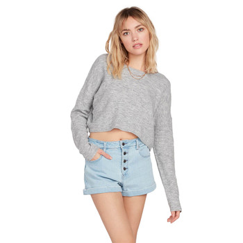Volcom Take Me Far Away Pullover - Heather Grey