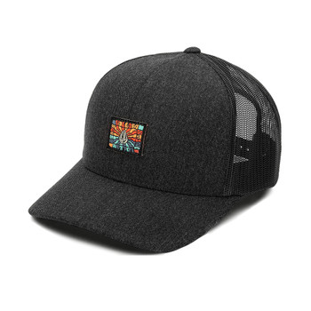 Volcom Day Waves Cheese Hat - Charcoal Heather