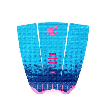 Creatures of Leisure Mick Fanning Lite Signature Traction Pad - Cyan Fade Pink