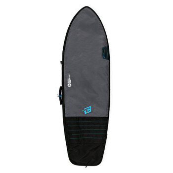Creatures of Leisure Fish Day Use Surfboard Bag - Charcoal Cyan