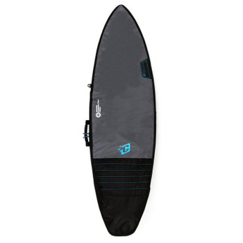 Creatures of Leisure Shortboard Day Use Surfboard Bag - Charcoal Cyan