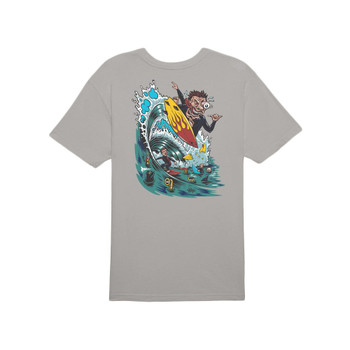 O'Neill Ripper High Rise Tee - Grey - Back