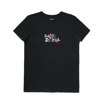 Banks Journal Nadia Label Tee - Dirty Black