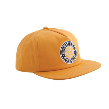 Dark Seas Journeyman Snapback Hat - Gold