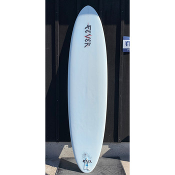 """Used Fever 7'6"""" Funboard Surfboard"""