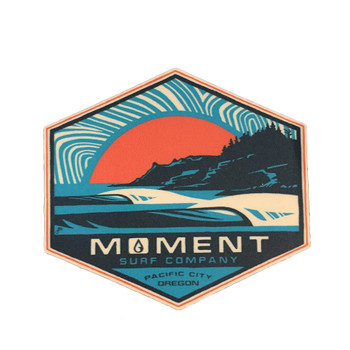Moment Sunset Cape Sticker