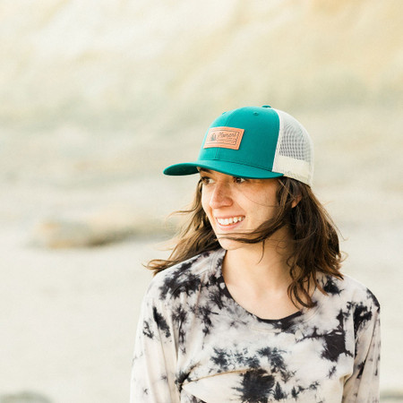 Moment PC Rock Hat - Teal / White - 3