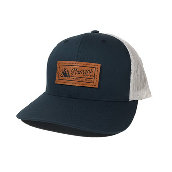 Moment PC Rock Hat - Navy / White