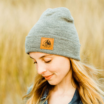 Moment Haystack Beanie - Heather Grey - 2