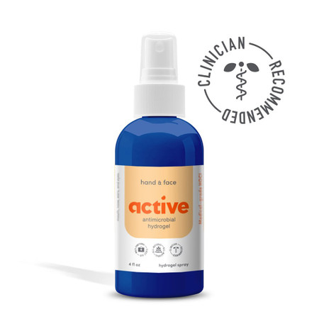 Active Antimicrobial Hand & Face All Natural Hydrogel Spray