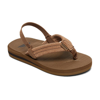 Quiksilver Carver Suede Toddler Sandal - Tan